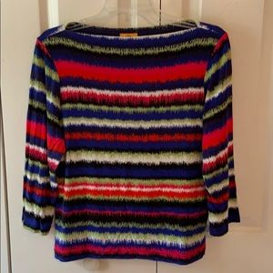Ruby Rd. 3/4 sleeve casual top - PM - EUC
